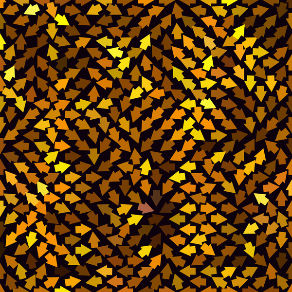 Arrow Background Pattern 3: A background, texture, fill, etc. of arrows pointing in all directions.