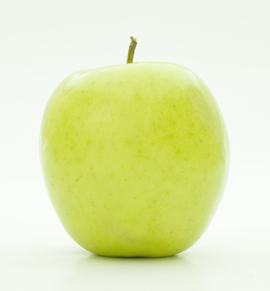 Green Apple: Side view
