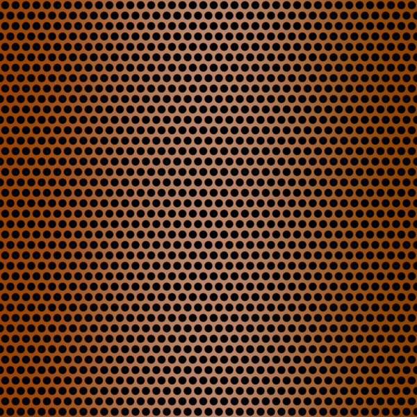 Metallic Grille 4: A closeup of a brown metal grille. Could be a speaker cover, texture, fill, or background. You may prefer this:  http://www.rgbstock.com/photo/nvzzRVk/Metallic+Grille+2  or this:  http://www.rgbstock.com/photo/nvzAmRy/Metallic+Grille+1