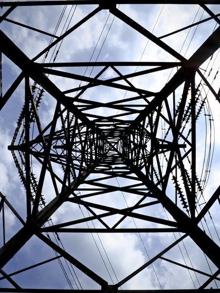 Power Tower 2: An electricity pylon.