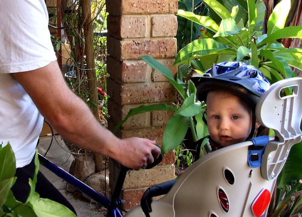 bike ride with dad1: the fun and joy of going for a ride with father