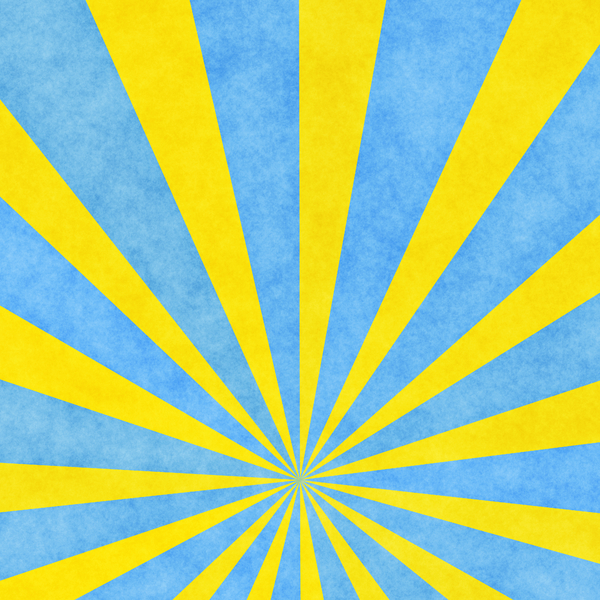 Very Hi-res Burst 2: A very high resolution sunburst in yellow and blue with a grunge effect. You may prefer:  http://www.rgbstock.com/photo/dKTqMK/Flare  or:  http://www.rgbstock.com/photo/n2qZcIe/Grungy+Retro+Burst+2