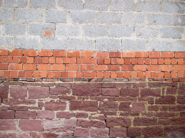 three kinds of bricks: three kinds of bricks