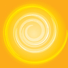 Swirl background yellow