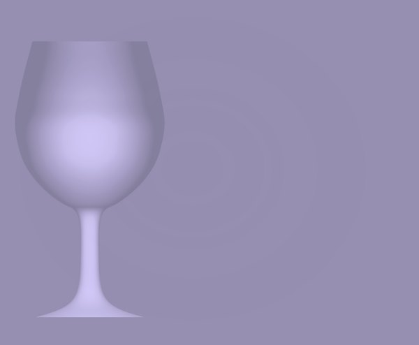 Wineglass Border 4: A purple-grey backdrop with a wineglass outline on one side.