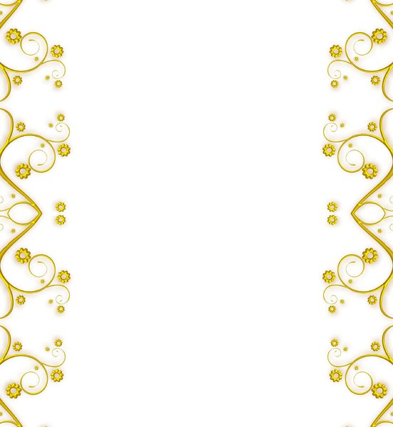 Ornate Metallic Border 7: A golden metallic ornate swirly border or frame on a white background. You may prefer this: http://www.rgbstock.com/photo/nXQED7M/Golden+Ornate+Border+6 or this: http://www.rgbstock.com/photo/nvi0UW8/Golden+Ornate+Border+2