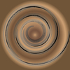 Swirl background brown