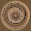 Swirl background brown