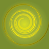 Swirl background green