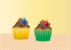 Easter Cupcakes duo