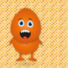 Orange little monster