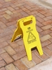 Warning: Wet Floor