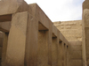 Walls of pyramid