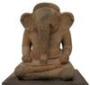 Buddha elephant statue