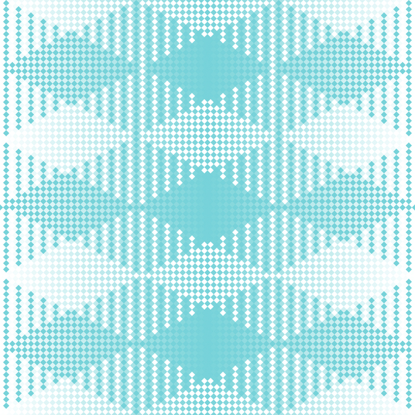 Diamond Background Texture 4: A diamond patterned background, texture or fill with a retro feel.