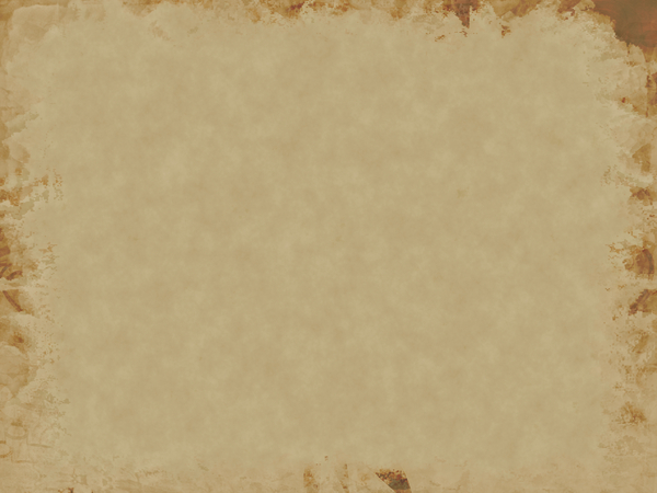 Decorated Parchment 7: A background of parchment decorated with a grunge border.