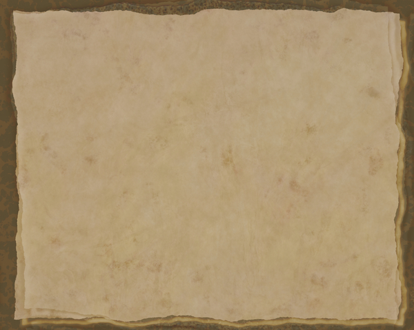 Decorated Parchment 3: A background of parchment decorated with a layeredl border.