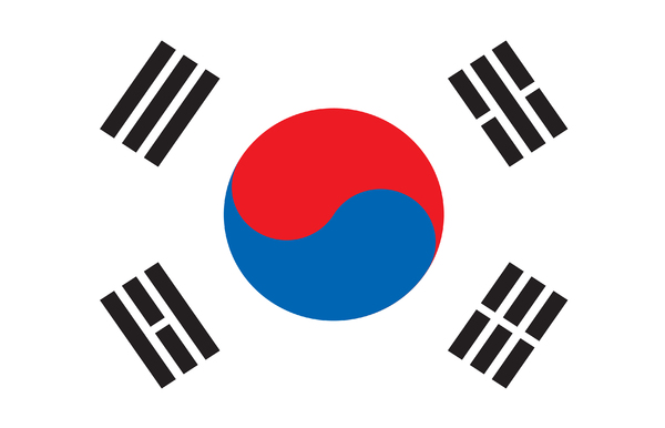 Korea flag: korean flag