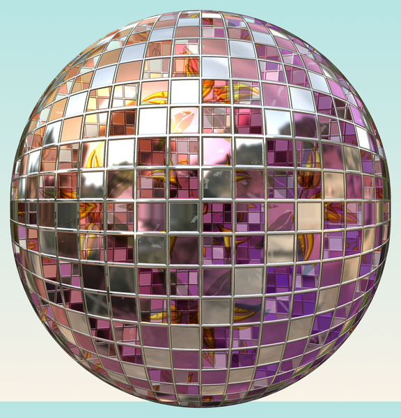 Metallic Sphere 6: A burnished silver metallic sphere or orb, with geometric panels and gaps. Could be a disco ball or bauble. You may prefer this:  http://www.rgbstock.com/photo/mPiRIee/Metallic+Sphere