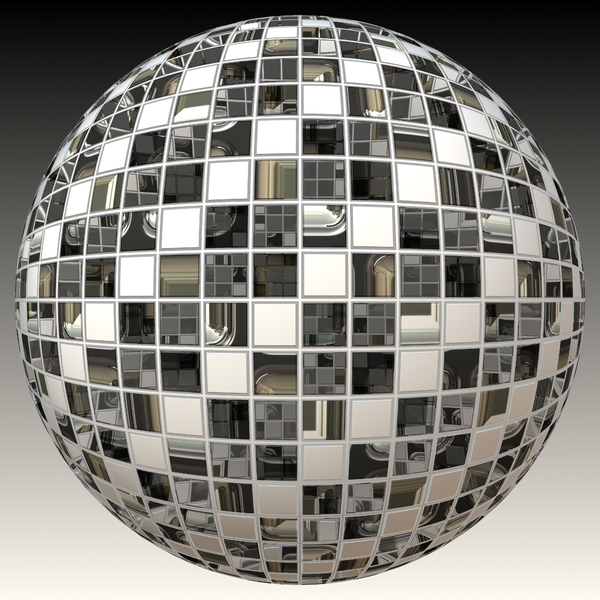 Metallic Sphere 2: A burnished silver metallic sphere or orb, with geometric panels and gaps. Could be a disco ball or bauble. You may prefer this:  http://www.rgbstock.com/photo/mPiRIee/Metallic+Sphere