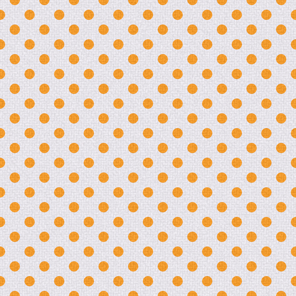Polka Dots on Texture 1: Bright polka dots on textured ackground. Could be cloth or textile, background or fill.