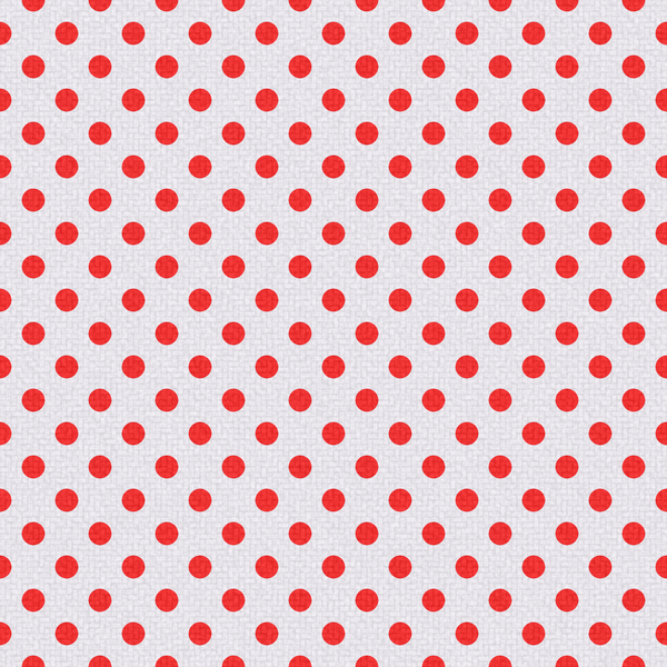 Polka Dots on Texture 7: Bright polka dots on textured ackground. Could be cloth or textile, background or fill.