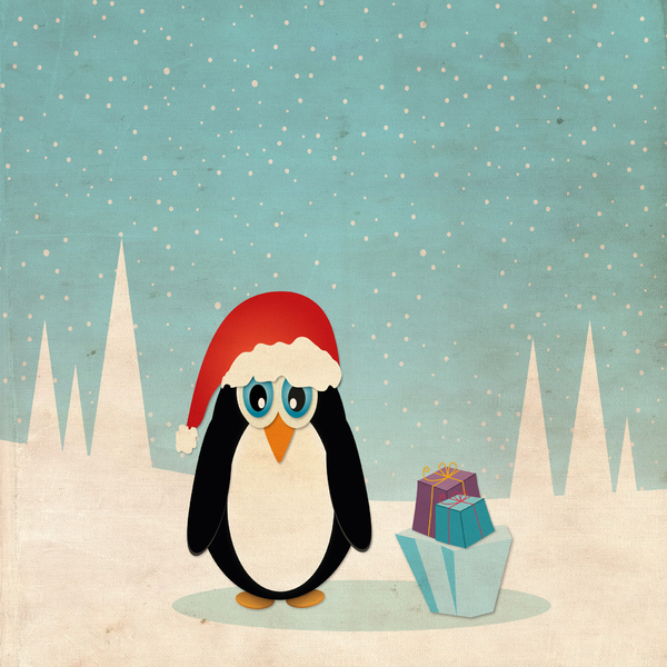 Christmas Penguin - 1: no description