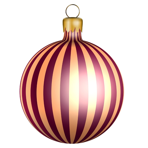 Christmas bauble: Christmas bauble on the White background.