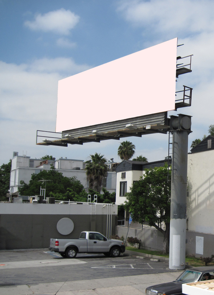 Billboard: A billboard in USA
