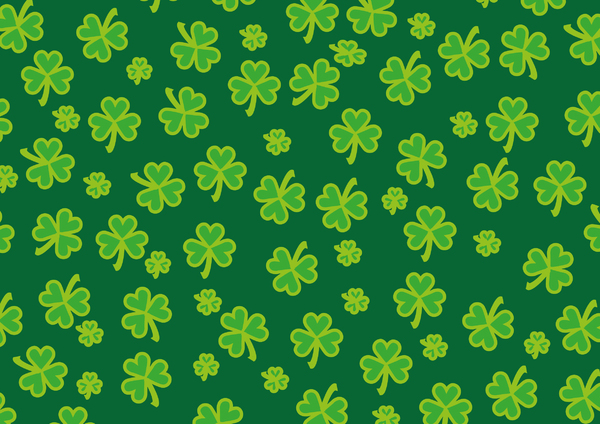 patricks day shamrock background - photo #44