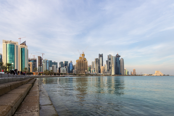 Doha Skyline: Doha's West Bay skyline