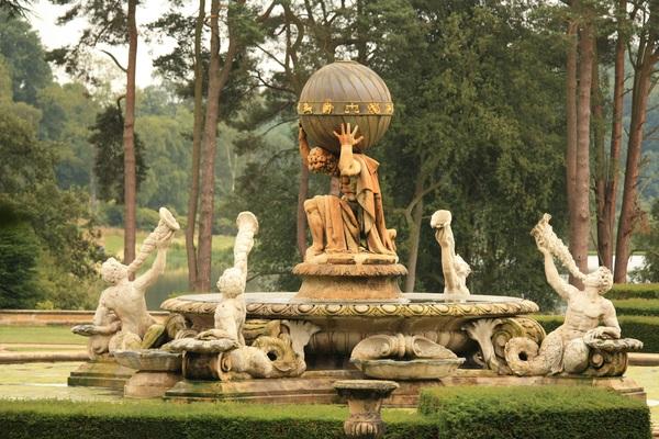 Atlas Fountain Statue