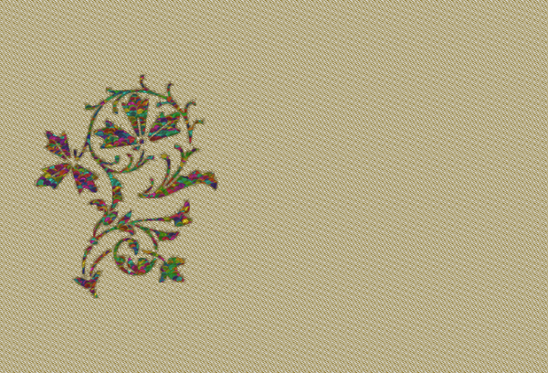 Floral Embroidery: A graphic floral embroidery design. You may prefer:  http://www.rgbstock.com/photo/nY4FRZm/Pretty+Floral+Corner+1  or:  http://www.rgbstock.com/photo/msNuBfo/Stationery+With+Motif+2