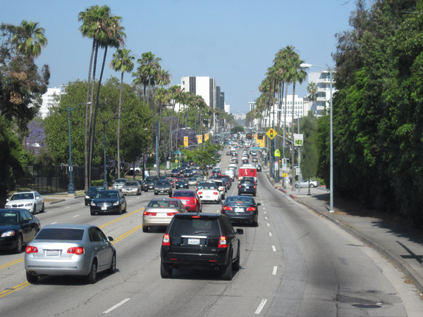 Los Angeles streets: On the streets of Los Angeles.