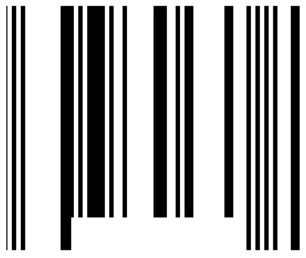 Barcode: Lines representing a barcode.