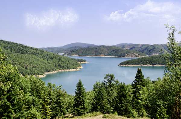 plastira Lake: plastira Lake in central Greece