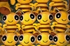 toy bees texture