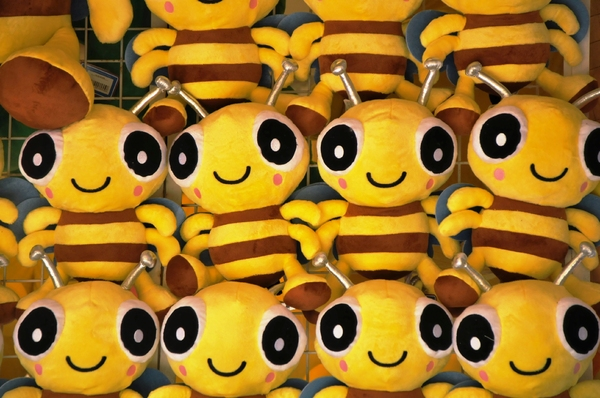 toy bees texture: toys bees texture