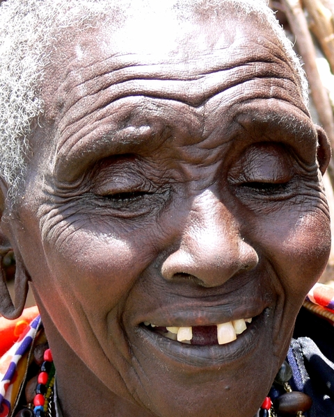 Masai 1 - Masai Woman: Various pictures of the Masai Tribe in Kenya. Hardened warrior people who lives from the land and their cattle in east africa.
