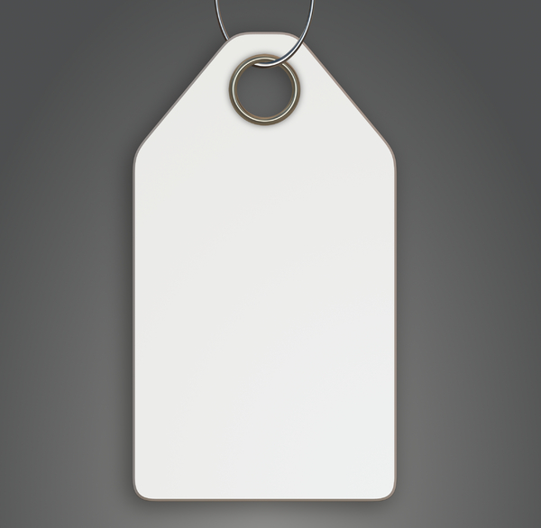 Blank Tag 4: A blank tag in white on a grey background, with a metallic hole and loop. You may prefer:  http://www.rgbstock.com/photo/nTvqWYw/Tag+7  or:  http://www.rgbstock.com/photo/nTvqYCM/Tag+6+Christmas