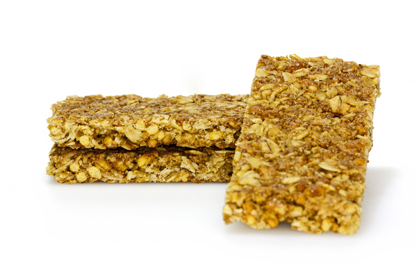 Granola Bars: Crunchy oats and honey granola bars
