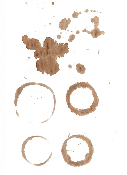 Coffee stains: no description