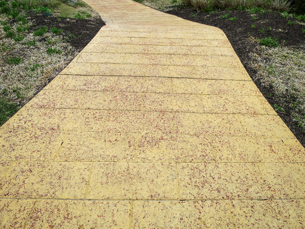 Yellow Brick Road: Yellow brick road.