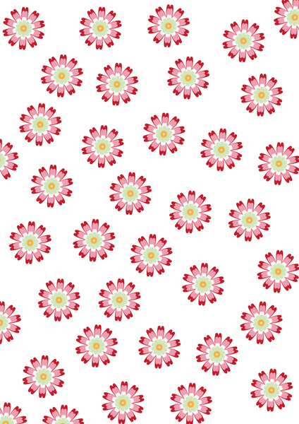 pink and red flower pattern: pink and red small flower pattern