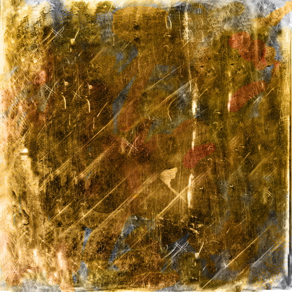 Grunge Gold Texture: Grunge gold texture background.