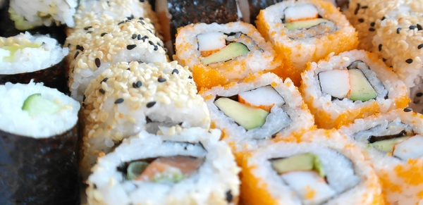 sushi: selfmade selfrolled
