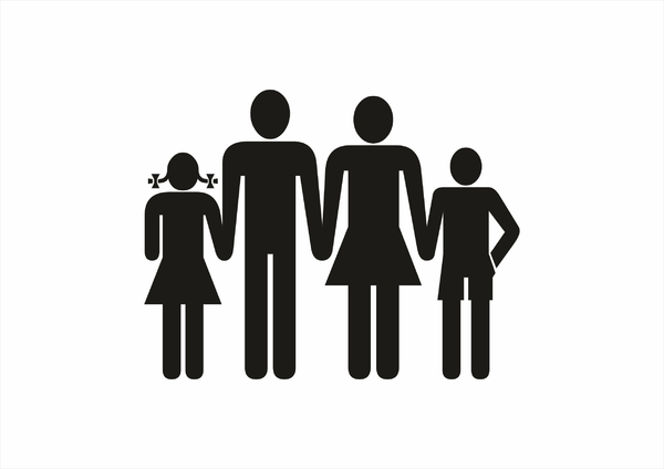 Happy Family: happy family graphic