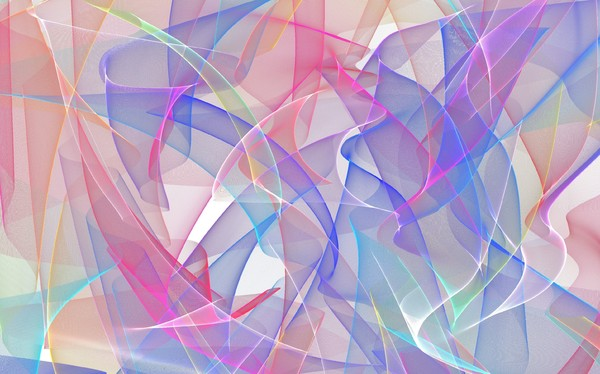 Wild Gossamer Waves 2: Abstract gossamer waves in vivid colours. You may prefer: http://www.rgbstock.com/photo/mqCnDMg/Otherworld+8  or:  http://www.rgbstock.com/photo/2dyX9sA/Vivid+Abstract