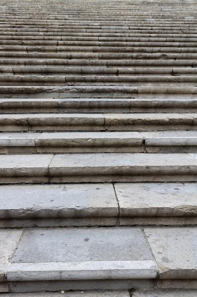 escalones de piedra textura