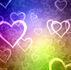 Hearts Background 5